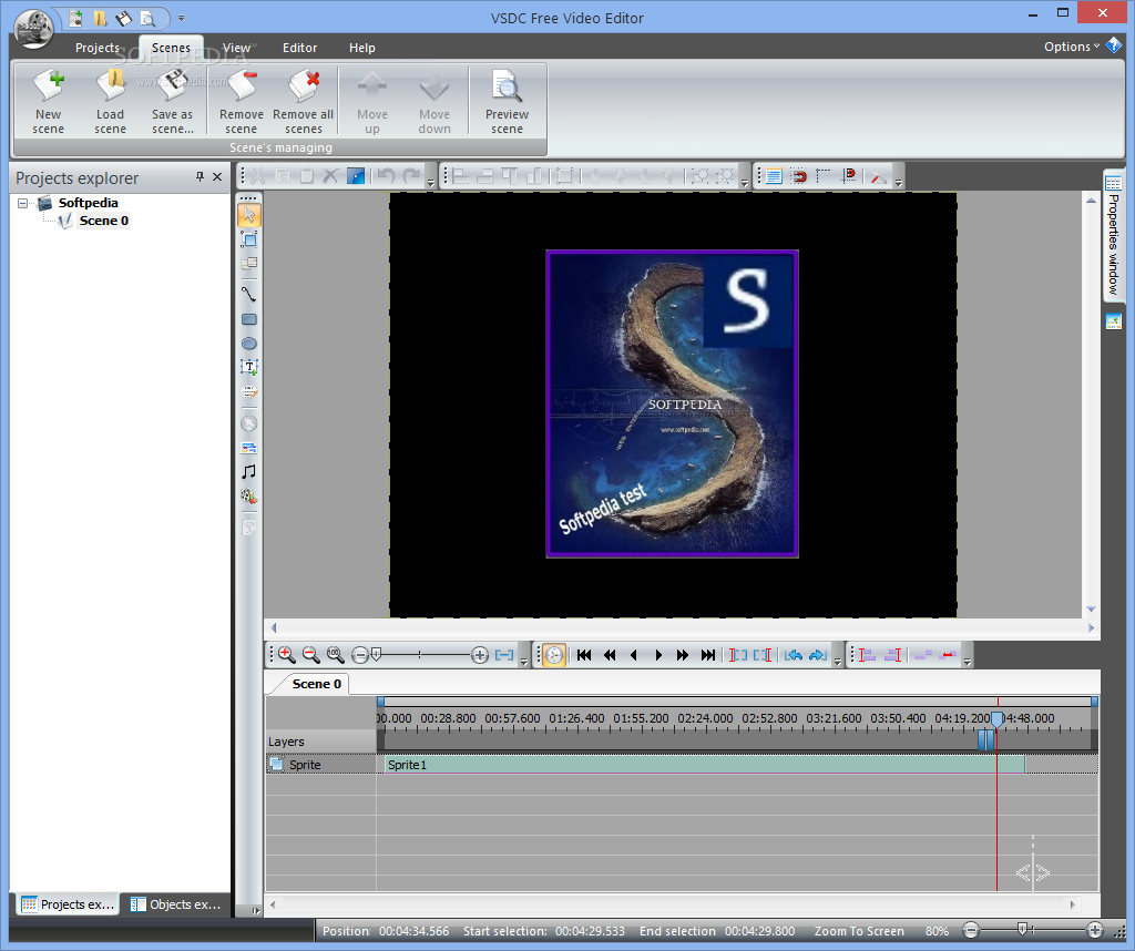 VSDC Free Video Editor 3 3 5 411 Free   Software Sales From Us